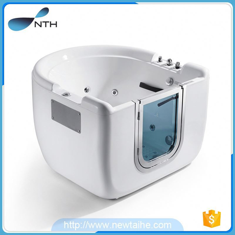 NTH 2017 new product custom ISO9001 220V boat shape bathtub with radio and speaker