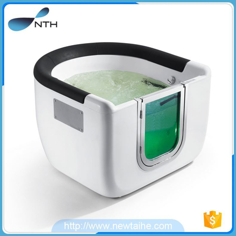 NTH china alibaba stylish ISO 1person cheap baby bath crock with led light