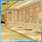 NTH china wholesale fancy hotel massage corner walk in bathtub with shower with under water light