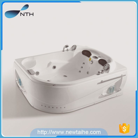 NTH canton fair best selling product customized suite acrylic 2017 square massage bathtub with jets