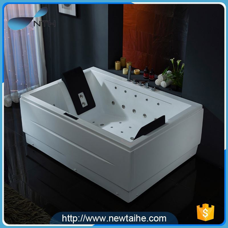 NTH alibaba china supplier customized ETL air bubble jet best acrylic bathtub brands