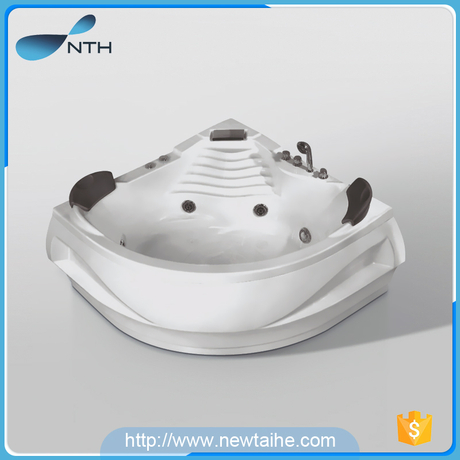 NTH Wholesale double whirlpool bathtub alibaba China suppliers