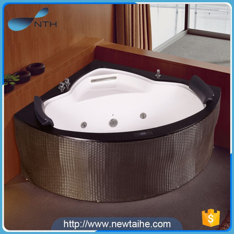 NTH made in china low price ISO white outdoor wirlpools with led light