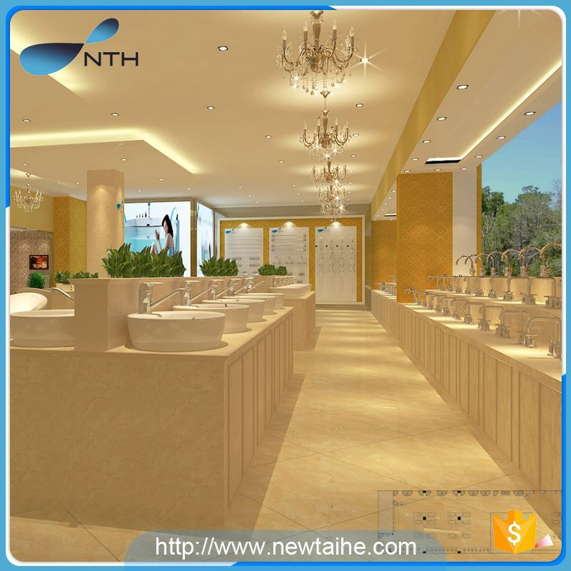 NTH china manufacturer new restroom two adult corner massage bathtub with tv