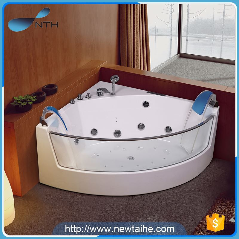 NTH alibaba best sellers stylish widely use ivory portable wooden camping bathtub