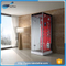 NTH new products on china market high quality shower room glass snigle steam showers with shower holder