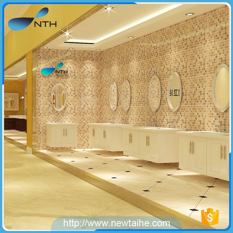 NTH china factory popular ISO9001 shower combo cheap balck hot tub