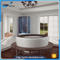 NTH new style low price holiday house massage replace tub with shower enclosure