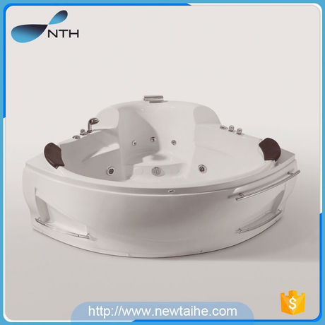 NTH china oem manufacturer custom made shower room acrylic cheap acrylic freestanding whirlpool bathtub with general switch