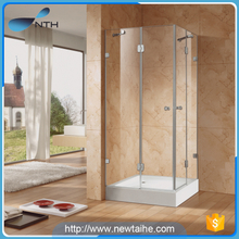 Glass bathroom shower cabin