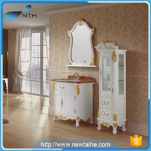 Modern bathroom cabinet with mirror